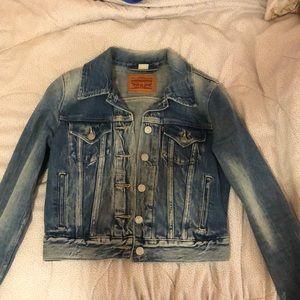 XS Levis Jean jacket
